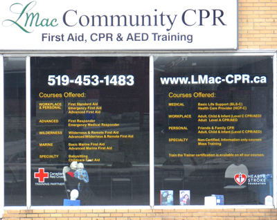 LMac Community CPR storefront