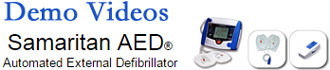Samaritan AED video demo link